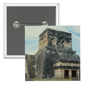 Temple of the Warriors, Chichen Itza, Yucatan, Mex Pin