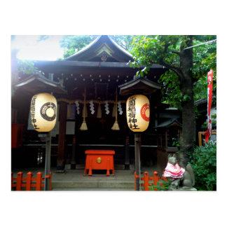 Temple of Ueno Park Postcard