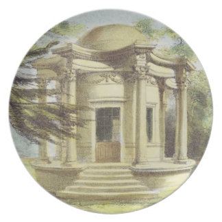 Temple of Victory, Kew Gardens, plate 19 from 'Kew
