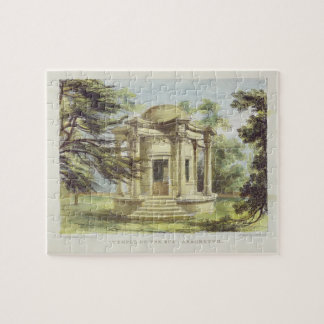 Temple of Victory, Kew Gardens, plate 19 from 'Kew Jigsaw Puzzle