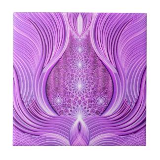 Temple of Violet Light Ceramic Tile