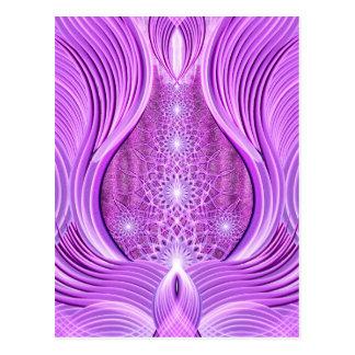 Temple of Violet Light Postcard