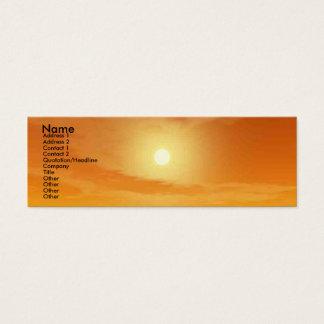 TEMPLE OF WATER / DESERT SUN MINI BUSINESS CARD