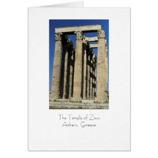 Temple of Zeus Card