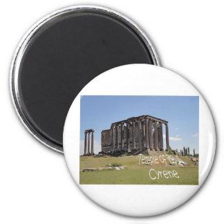 temple of zeus cyrene copy.jpg 2 inch round magnet