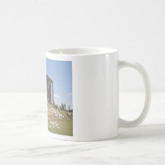 temple of zeus cyrene copy.jpg coffee mug
