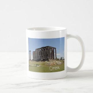 temple of zeus cyrene copy jpg coffee mugs