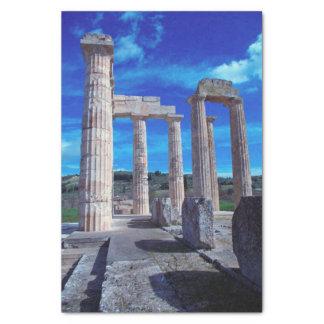 "Temple of Zeus – Nemea 10"" X 15"" Tissue Paper"