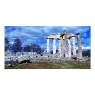Temple of Zeus – Nemea Custom Photo Card
