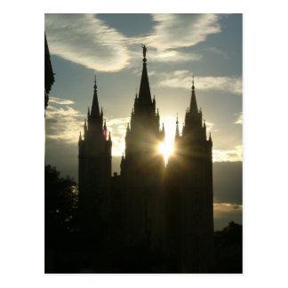 Temple Postcard