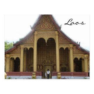 temple roof postcard