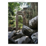 Temple Ruins Greeting Card