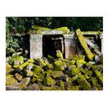 Temple Ruins in Cambodia Postcard