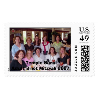 Temple SanaiAdult B'not Mitzvah 2007 Postage