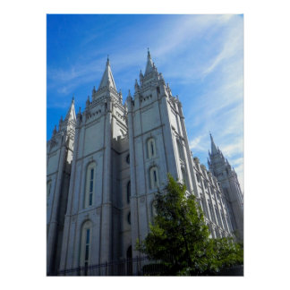 Temple Square Poster