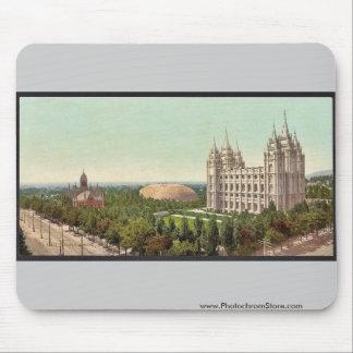 Temple Square, Salt Lake City classic Photochrom Mouse Pad
