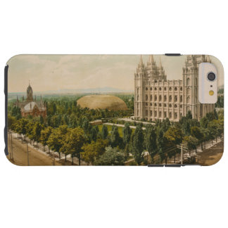 Temple Square Salt Lake City Utah in 1899 Tough iPhone 6 Plus Case