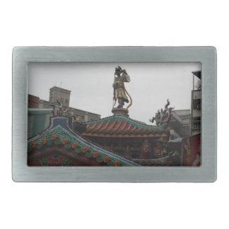 Temple Statue Belt Buckle