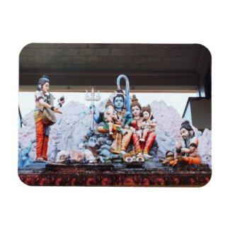 Temple statues premiumfleximagnet
