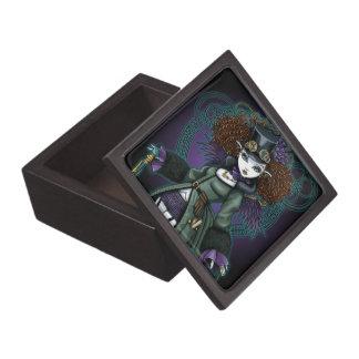 Temple Steampunk Vampire Angel Jewelry Box