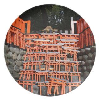 Temple Stone Far East Plates