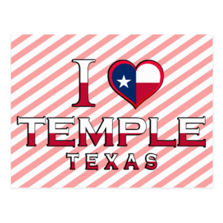 Temple, Texas Postcard