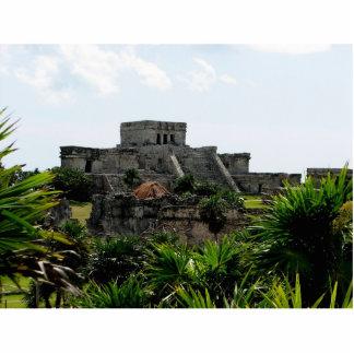 Temple, Tulum, Mexico Cutout