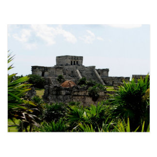 Temple, Tulum, Mexico Post Cards