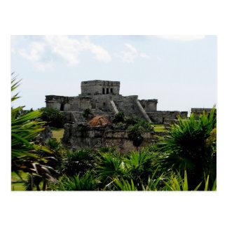 Temple, Tulum, Mexico Postcard