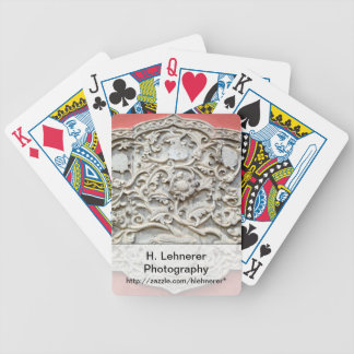 Temple Wall Art Bicycle Playing Cards