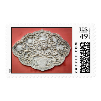 Temple Wall Art Postage Stamps