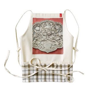 Temple Wall Art Zazzle HEART Apron