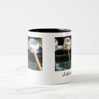 Temple Water Ladles Two-Tone Coffee Mug