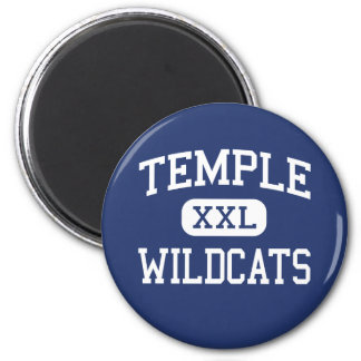 Temple - Wildcats - High School - Temple Texas Magnets