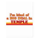 TEMPLEaI un poco una GRAN COSA en templo Tarjeta Postal