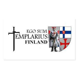 Templer Finland visiting cards No 0217092013 Business Card Templates