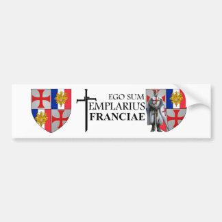 Templer France autosticker No. 0117092013 Bumper Sticker