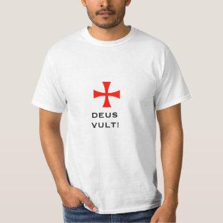 templer god wills it tee shirt