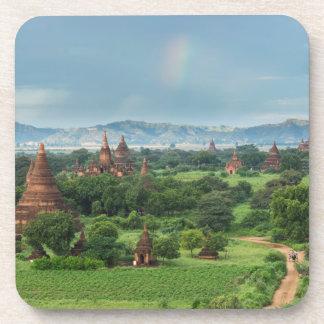 Temples in Bagan, Myanmar Beverage Coaster