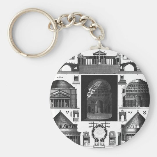 TEMPLES KEYCHAIN
