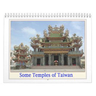 Temples of Taiwan Calendar