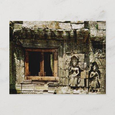 Temple'tastic Angkor Wat postcard