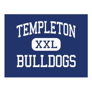 Templeton Bulldogs Middle Sussex Wisconsin Postcard