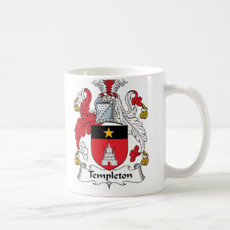 Templeton Family Crest Classic White Coffee Mug