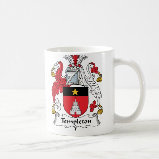 Templeton Family Crest Coffee Mug