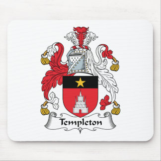 Templeton Family Crest Mouse Pad