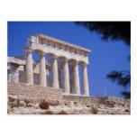 Templo, Aegina, Grecia Postales