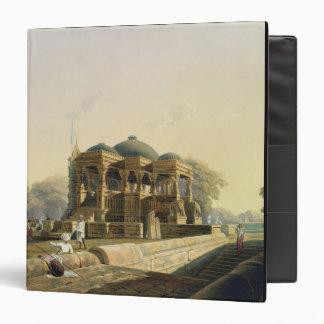 "Templo antiguo en Hulwud, del volumen I de 'Scener Carpeta 1 1/2"""
