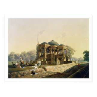 Templo antiguo en Hulwud del volumen I de Scener Tarjeta Postal
