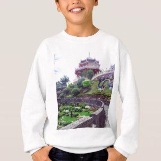 Templo asiático del Taoist Sudadera